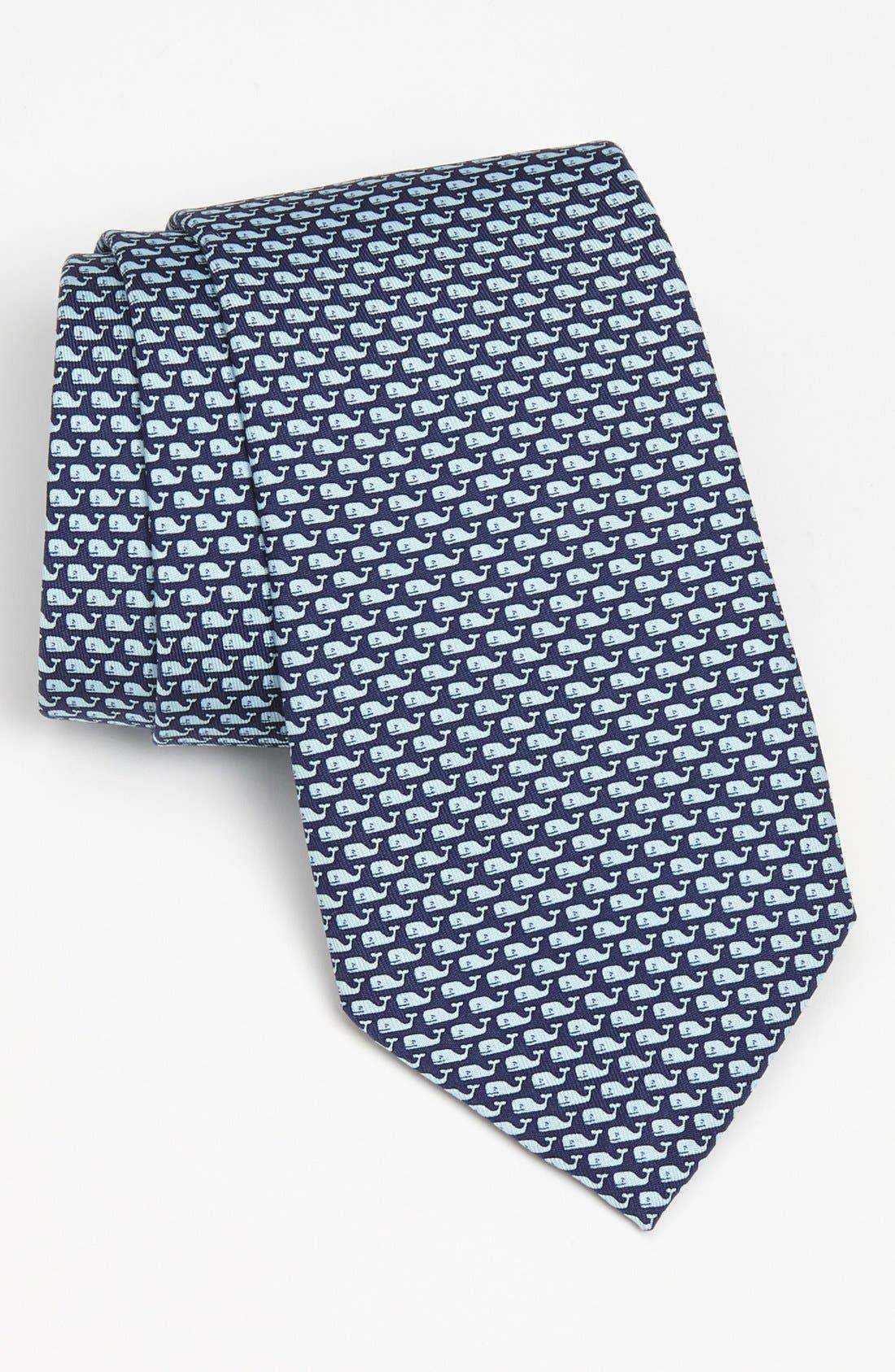 Main Image - Vineyard Vines 'Whale' Silk Tie