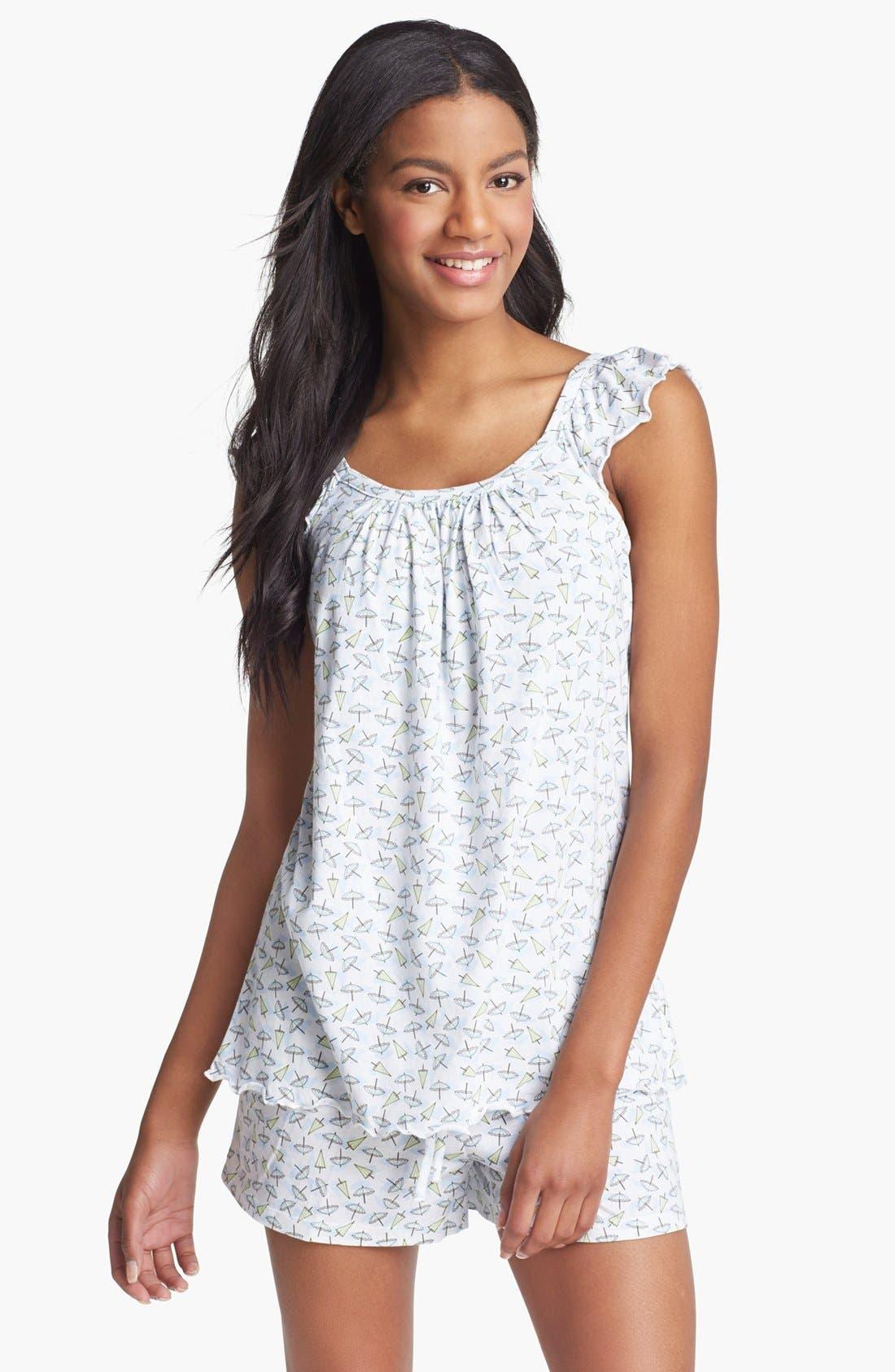 Alternate Image 1 Selected - Carole Hochman Designs 'Summer' Short Pajamas