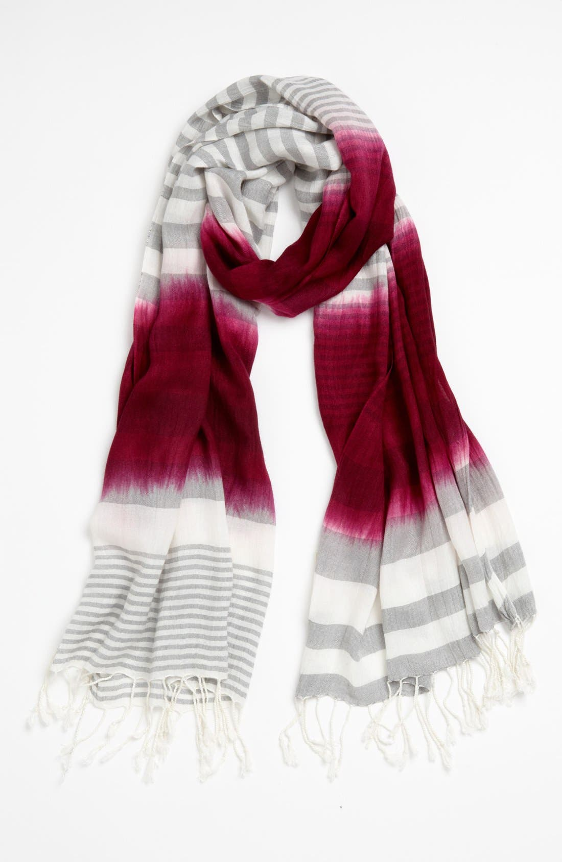 Alternate Image 1 Selected - Michael Stars 'Tidal Wave' Stripe Scarf