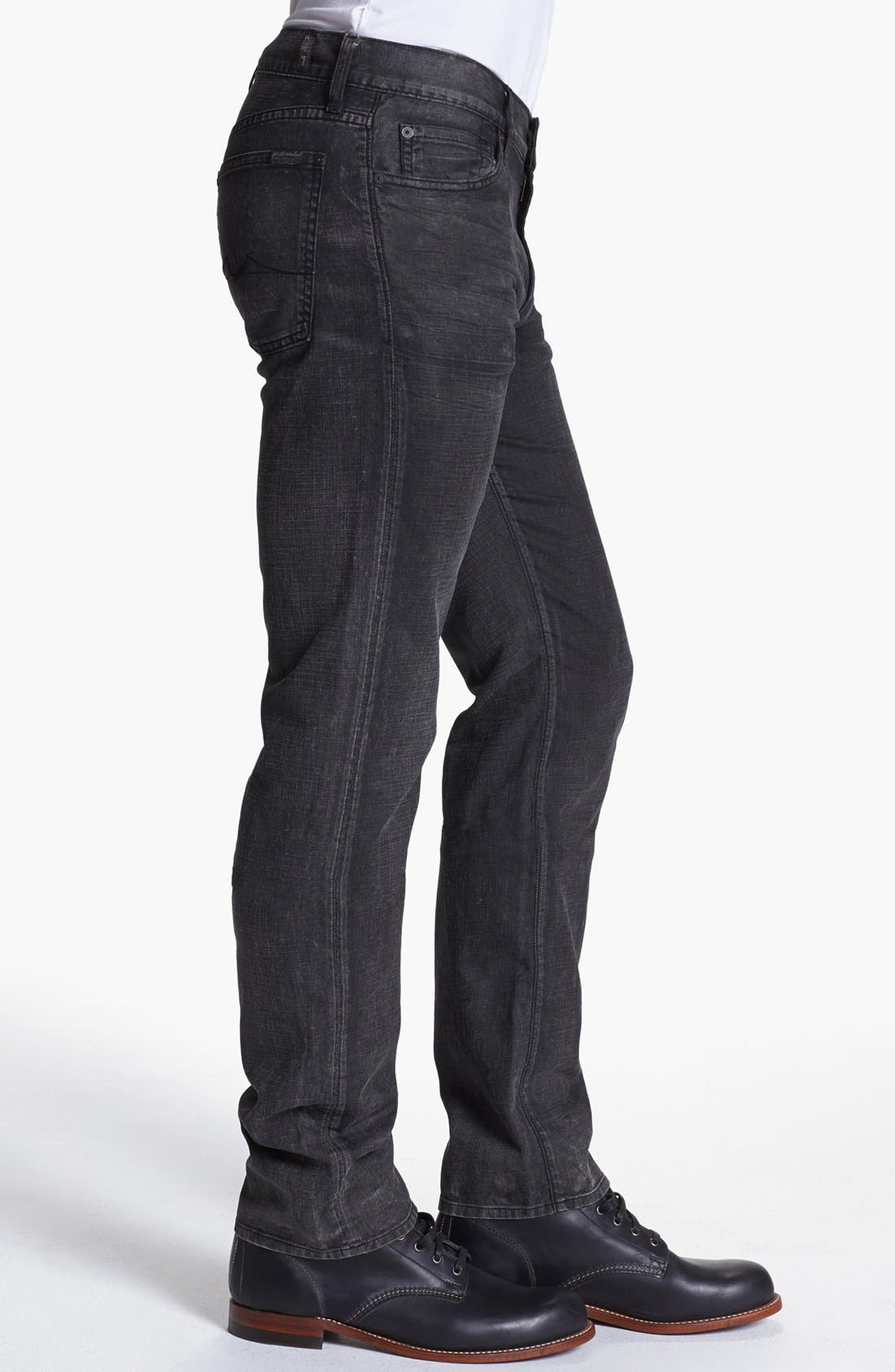 Alternate Image 3  - 7 For All Mankind® 'Slimmy' Slim Fit Jeans (Seven Mile Lane)