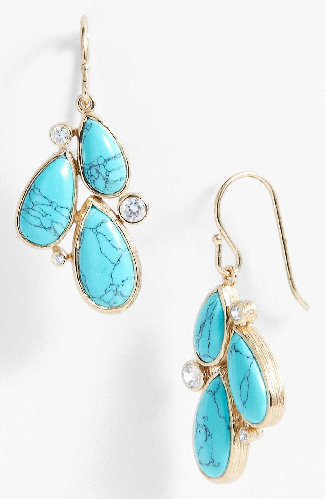 Main Image - Melinda Maria 'Regan' Cluster Drop Earrings (Nordstrom Exclusive)