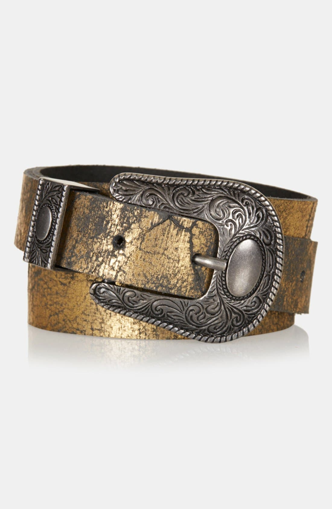 Alternate Image 1 Selected - Topshop Western Belt