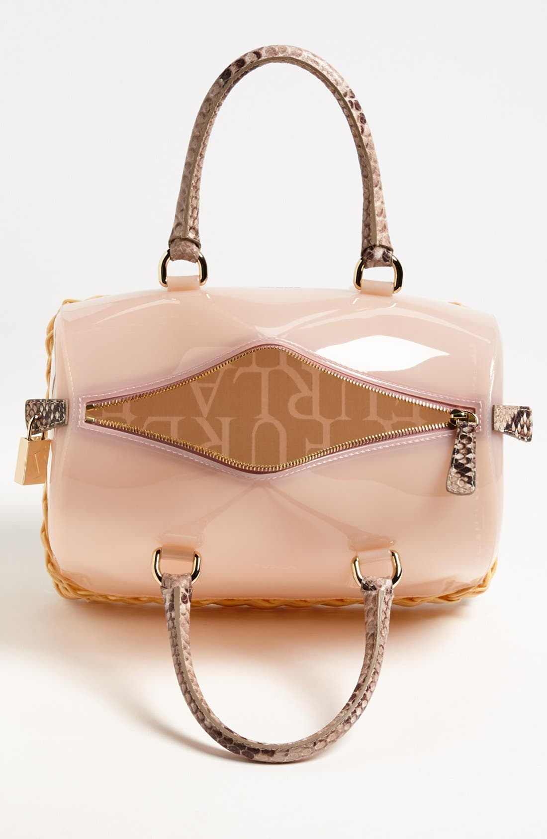 Alternate Image 3  - Furla 'Candy' Rubber Satchel