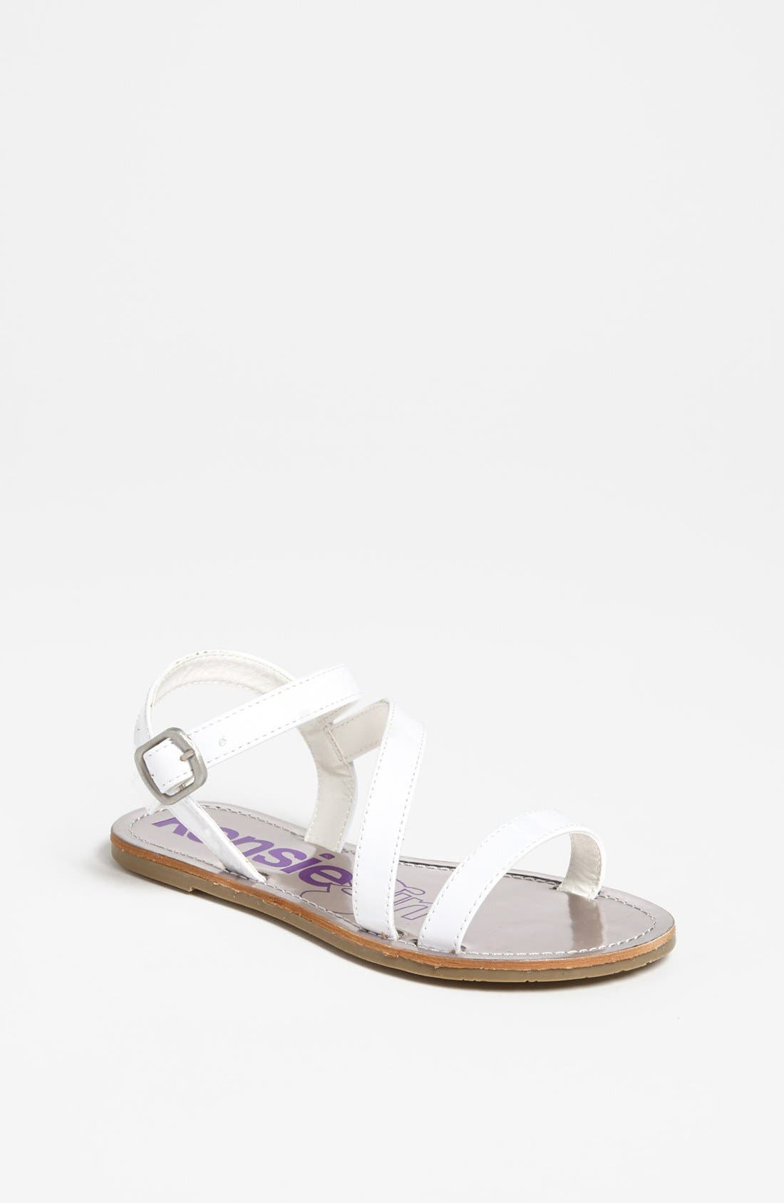 Alternate Image 1 Selected - kensie girl Strappy Sandal (Toddler, Little Kid & Big Kid)