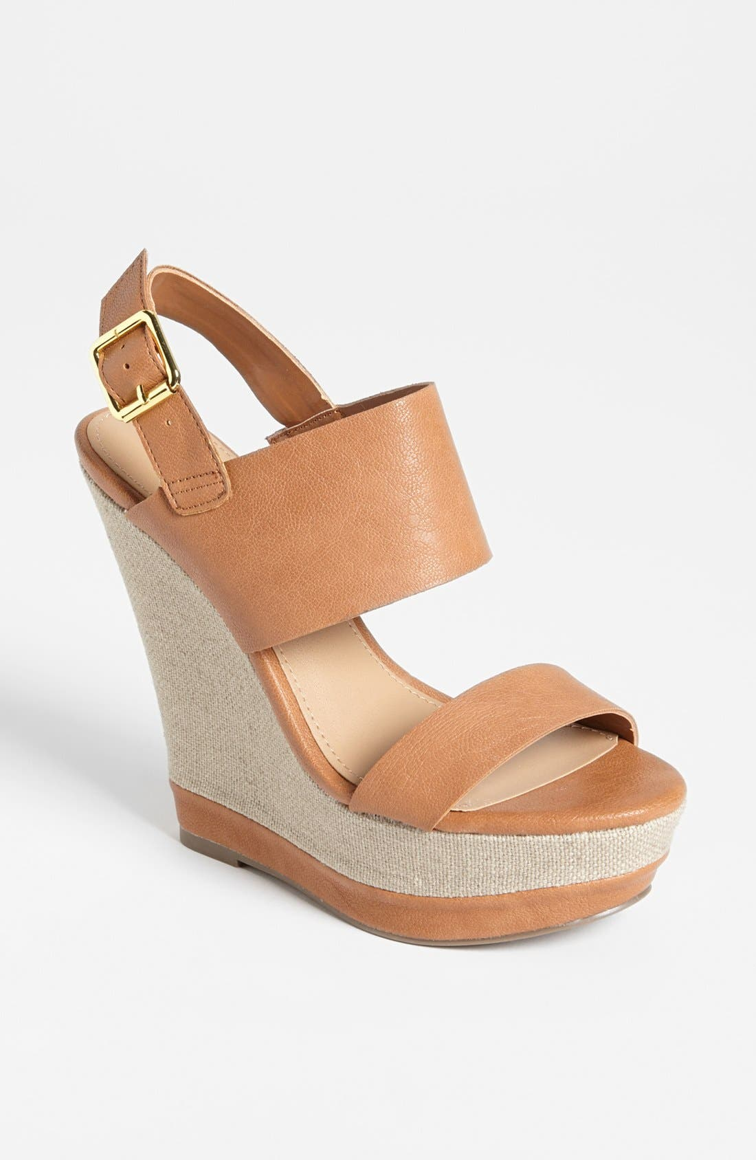 Alternate Image 1 Selected - Steve Madden 'Warmthh' Wedge Sandal