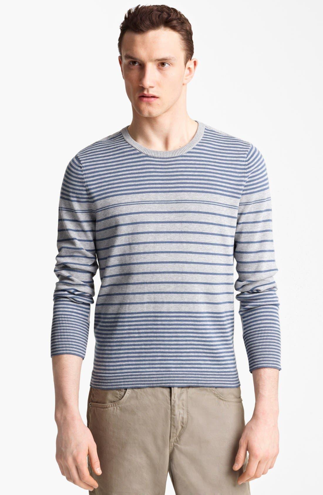 Alternate Image 1 Selected - rag & bone 'Frankie' Crewneck Sweatshirt