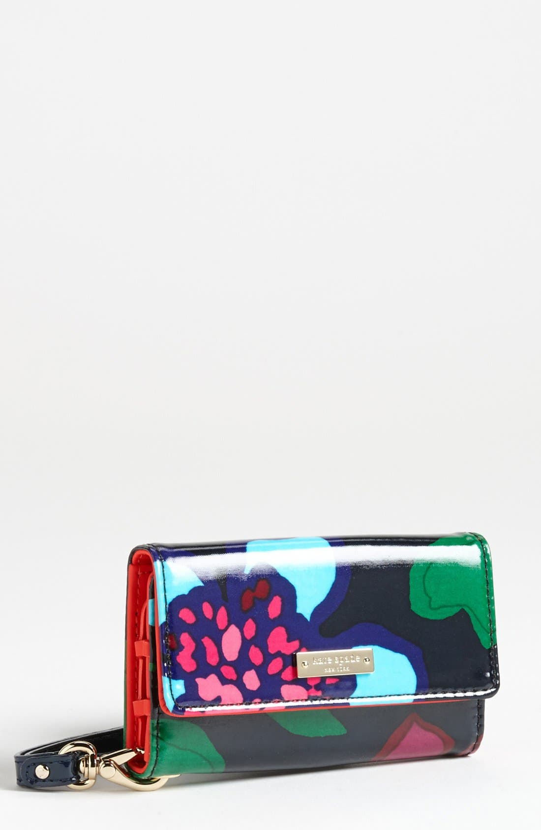 Main Image - kate spade new york 'mexican floral' iPhone 5 & 5S wristlet