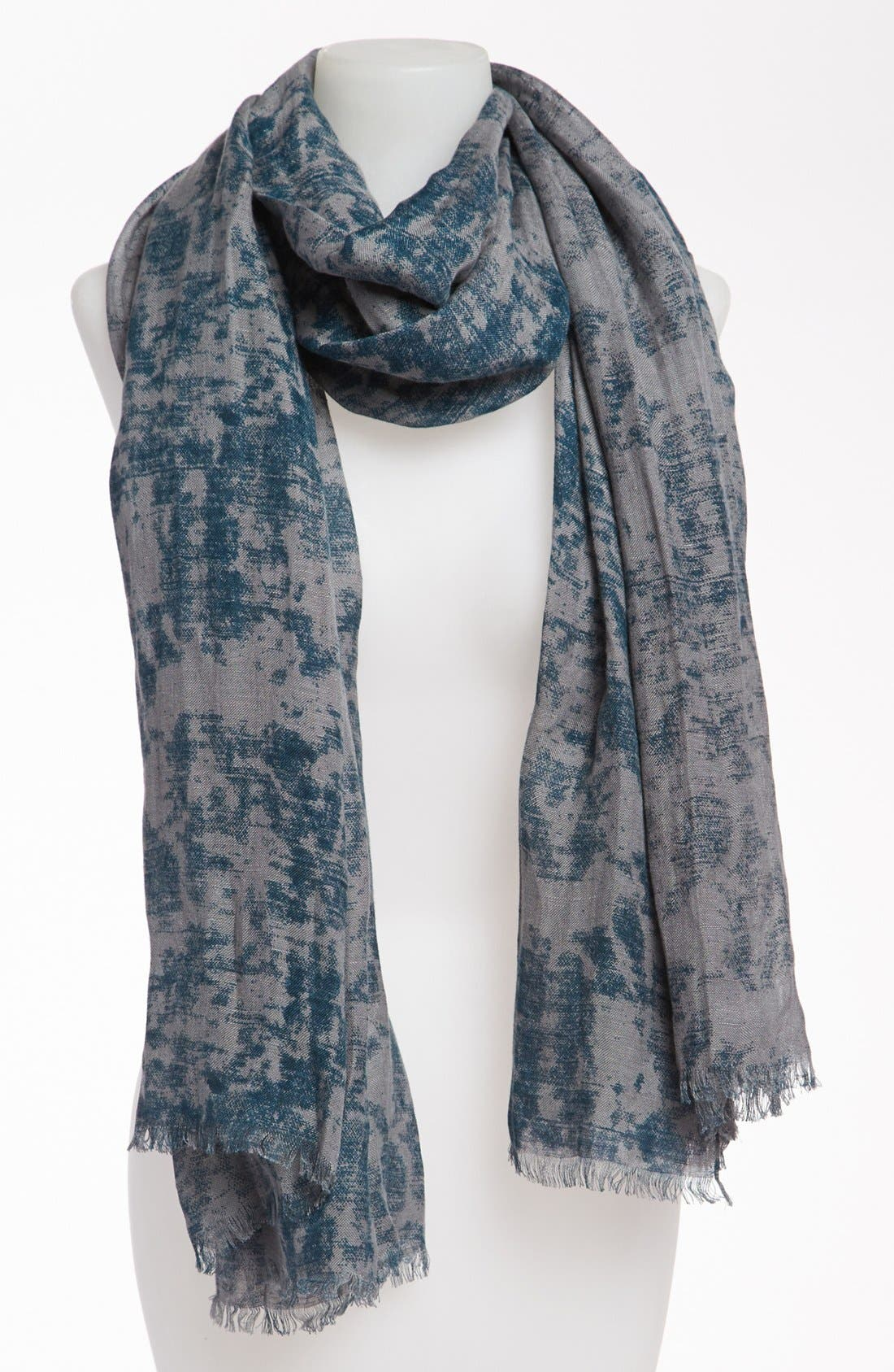 Alternate Image 1 Selected - MARC BY MARC JACOBS 'Distressed Canvas' Scarf