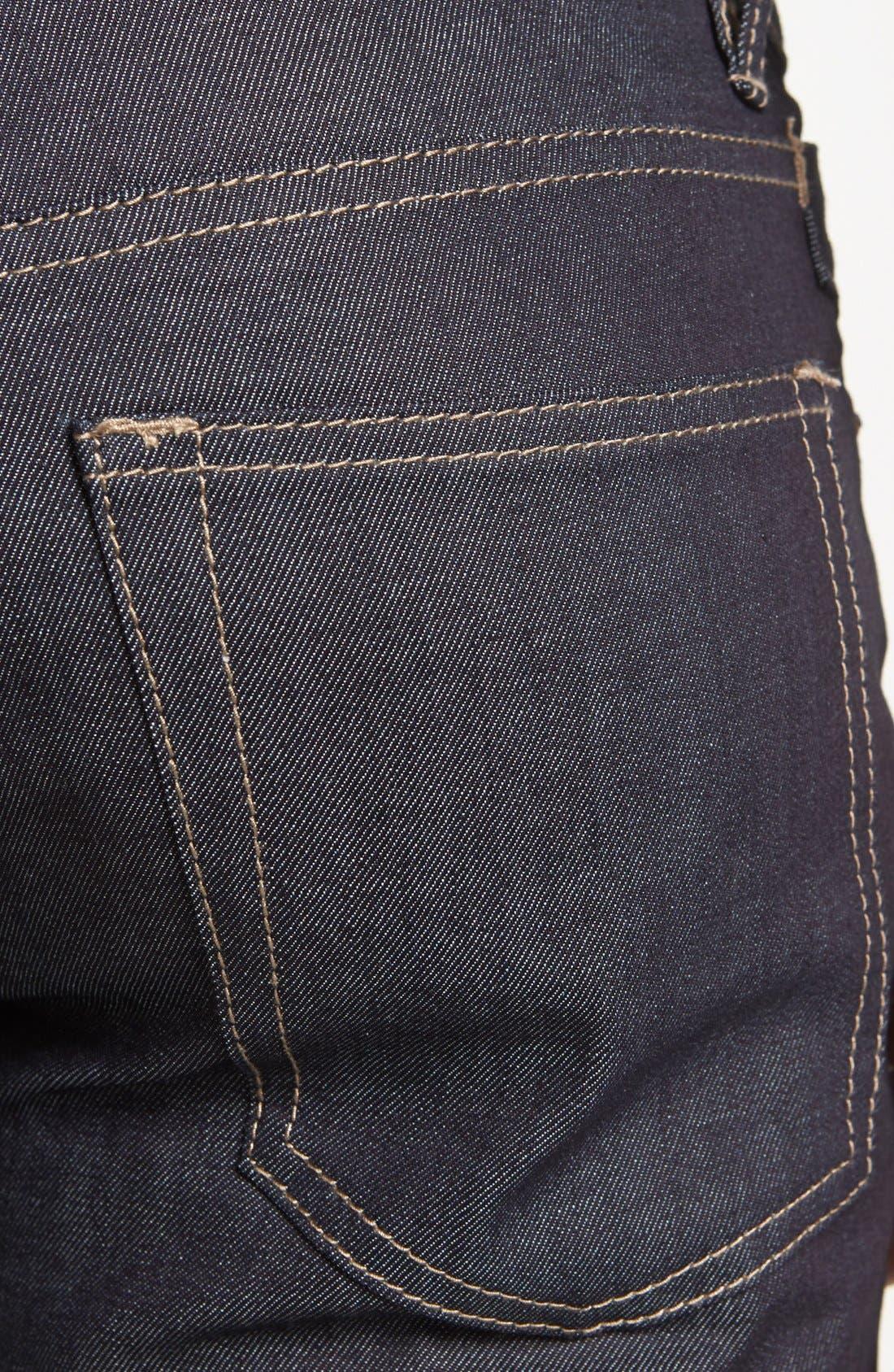 Alternate Image 4  - Williamsburg Garment Company Lightweight 'Grand Street' Slim Fit Jeans (Raw)
