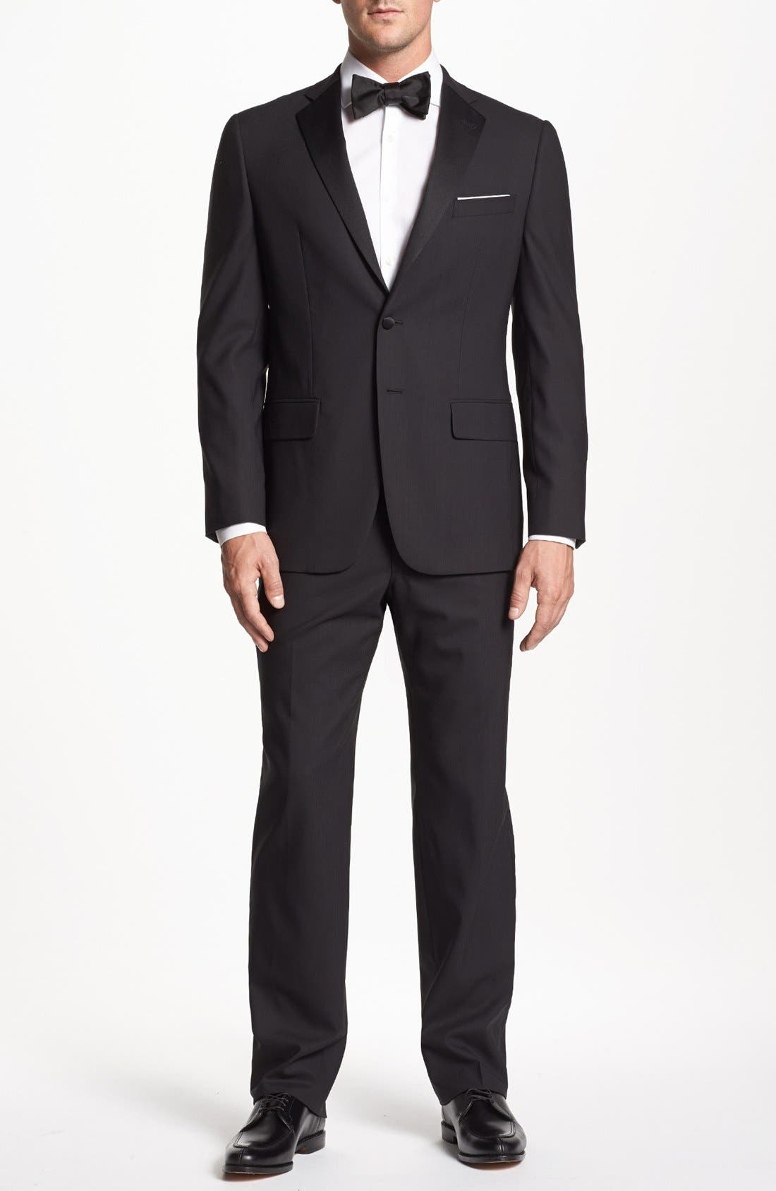 Main Image - Joseph Abboud 'Profile Hybrid' Trim Fit Wool Tuxedo (Online Only)