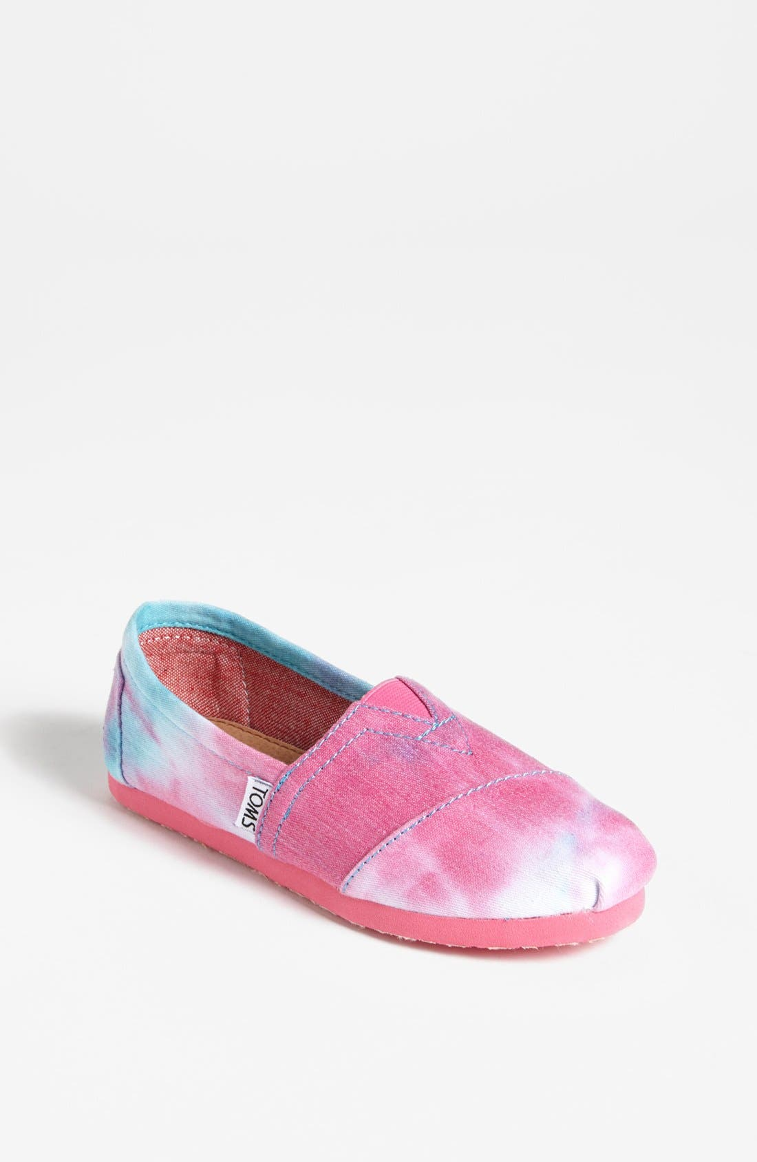 Main Image - TOMS 'Classic Youth - Tie Dye' Slip-On (Toddler, Little Kid & Big Kid) (Nordstrom Exclusive)