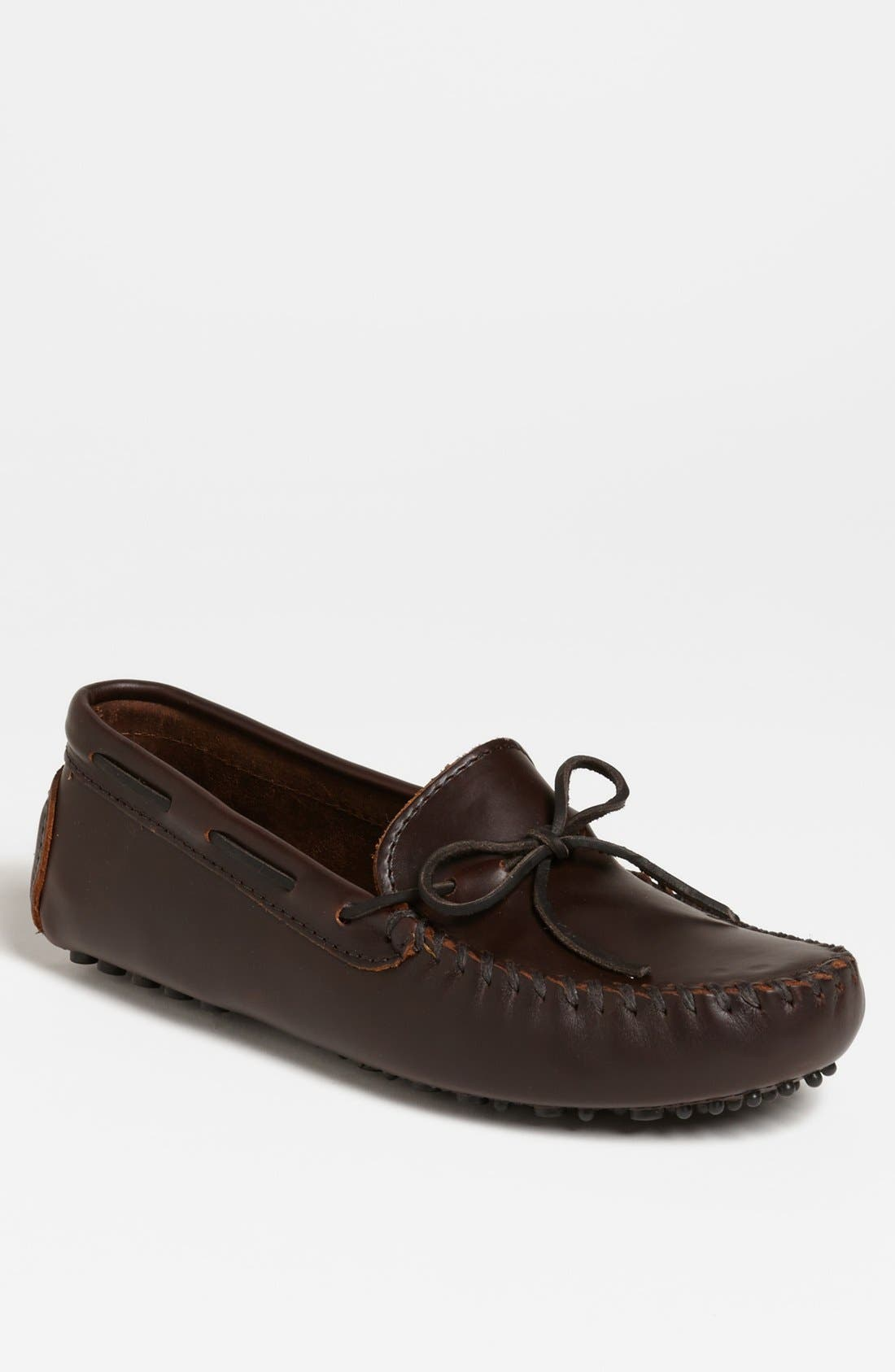 Main Image - Minnetonka Leather Driving Shoe