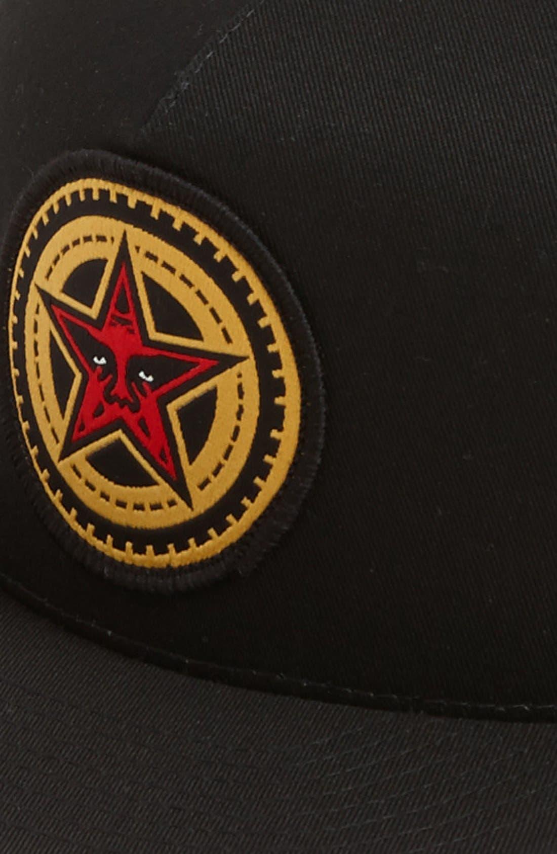 Alternate Image 2  - Obey 'Gears' Snapback Hat