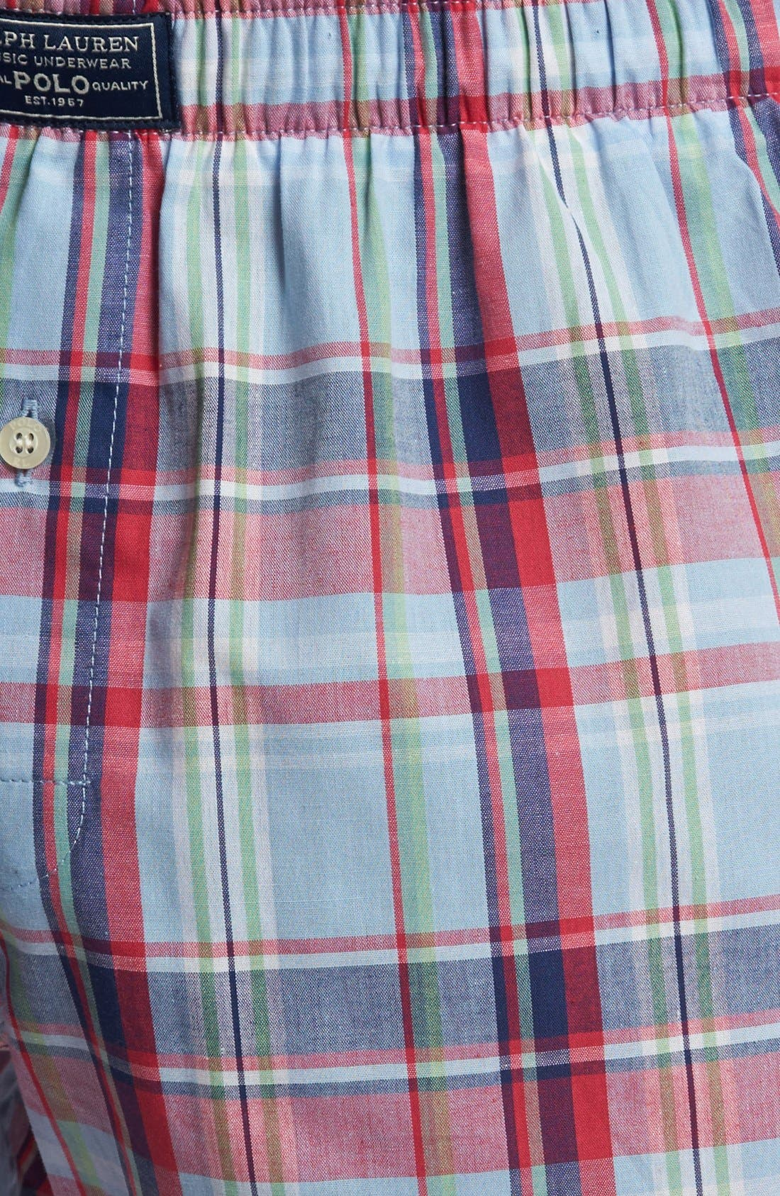 Alternate Image 3  - Polo Ralph Lauren Plaid Boxers