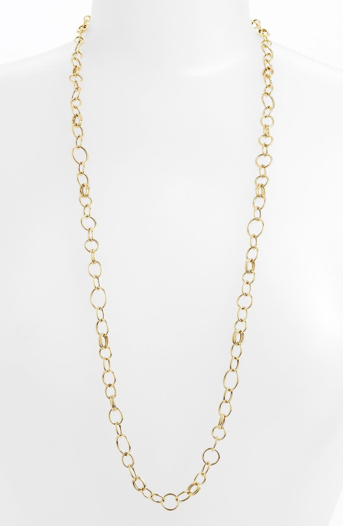 Alternate Image 1 Selected - Ippolita 18k Gold Long Link Necklace
