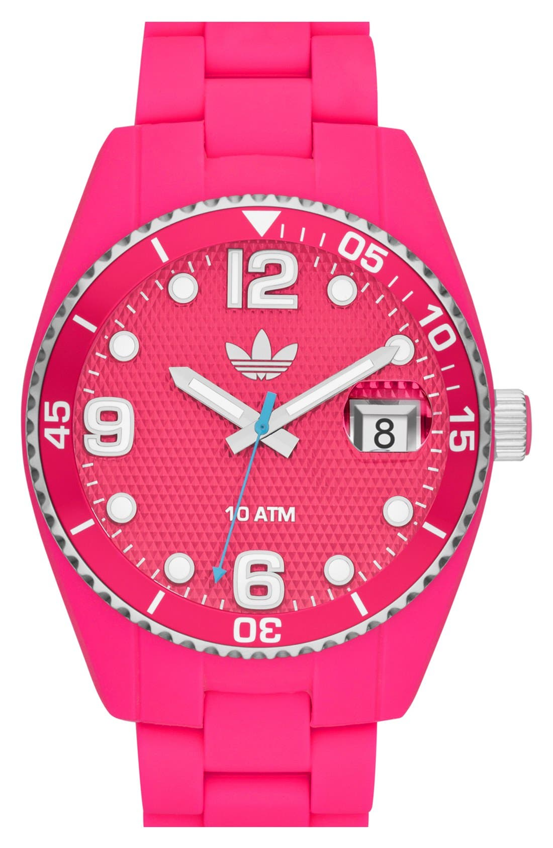 Alternate Image 1 Selected - adidas Originals 'Brisbane' Silicone Bracelet Watch, 42mm