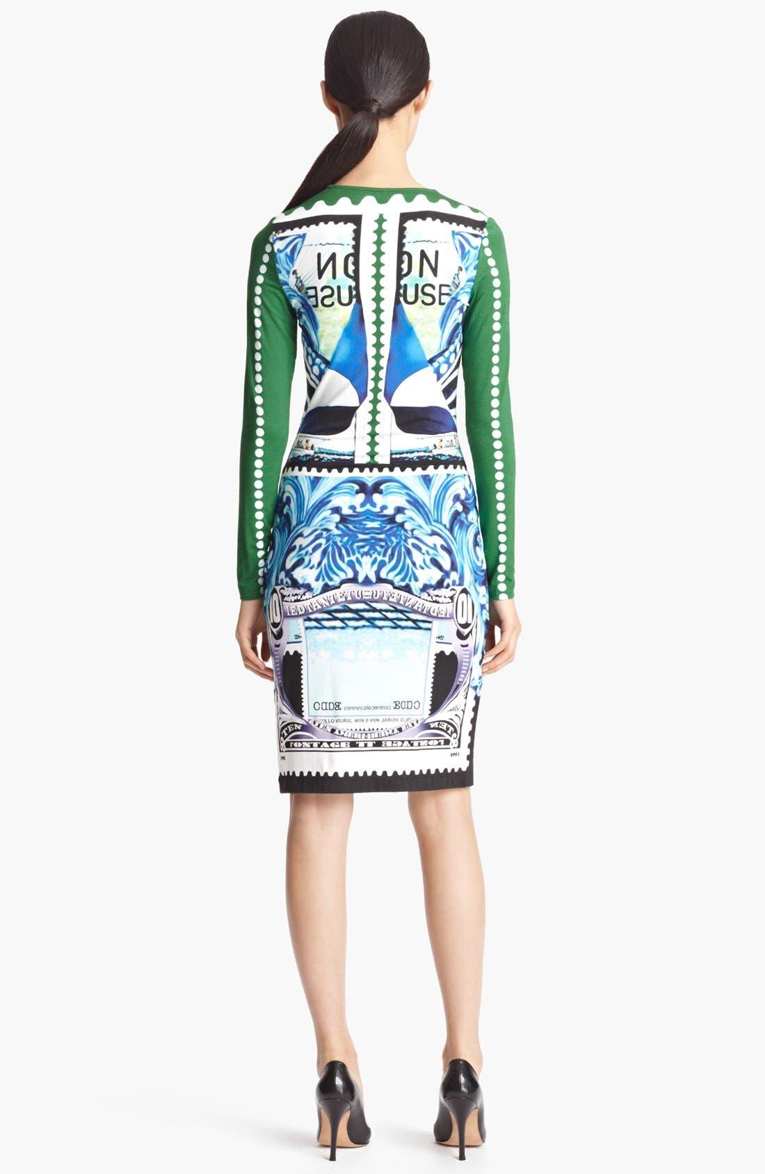 Alternate Image 2  - Mary Katrantzou Bird Print Jersey Dress
