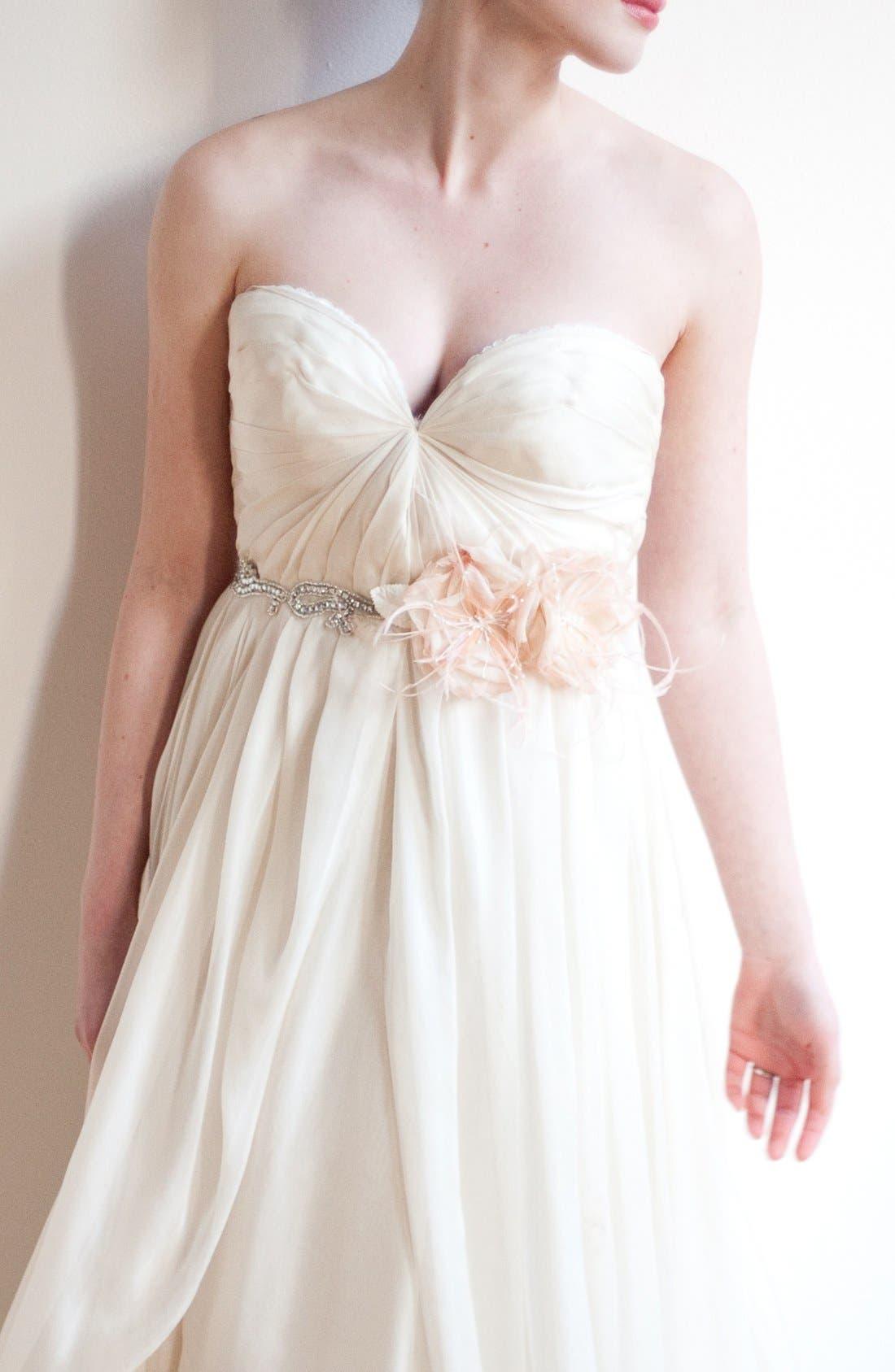 Alternate Image 2  - Serephine 'Rosalie' Bridal Sash