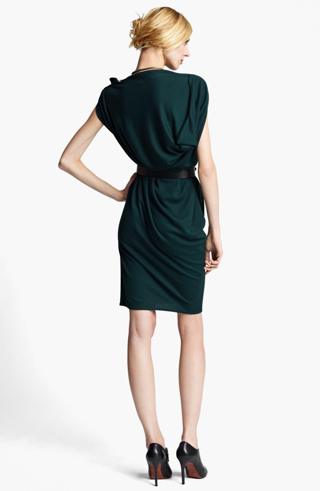 Alternate Image 2  - Lanvin Zip Detail Draped Dress