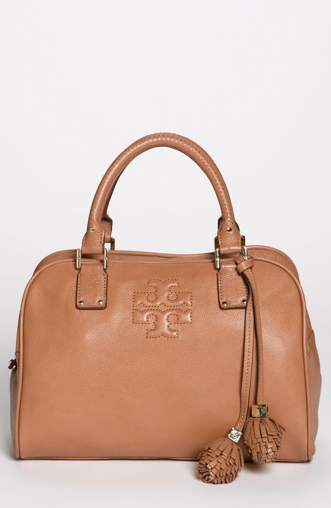 Alternate Image 1 Selected - Tory Burch 'Thea' Leather Satchel