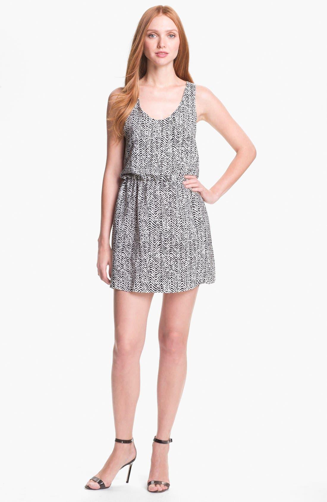 Main Image - Parker 'Daria' Silk Blouson Dress