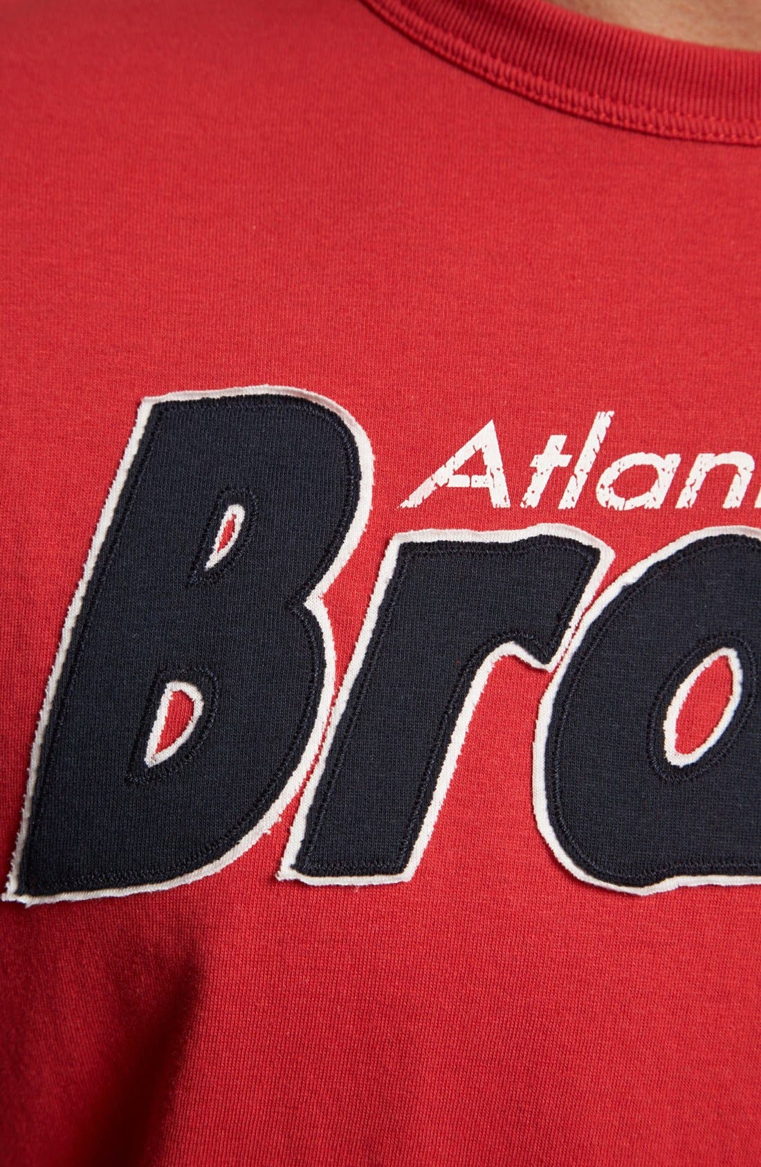 Alternate Image 3  - 47 Brand 'Atlanta Braves - Fieldhouse' T-Shirt