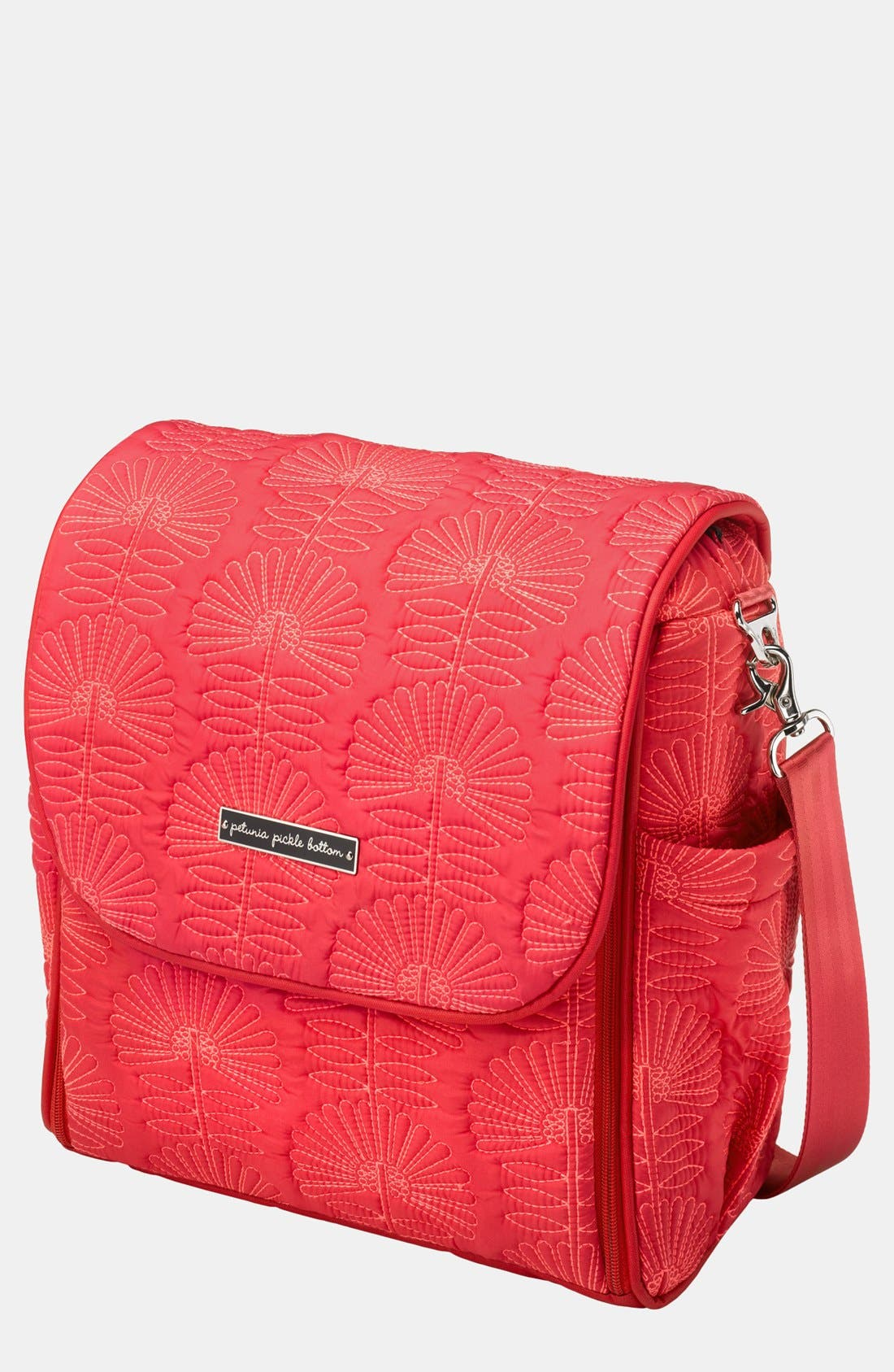 Alternate Image 1 Selected - Petunia Pickle Bottom 'Embossed Boxy' Backpack Diaper Bag