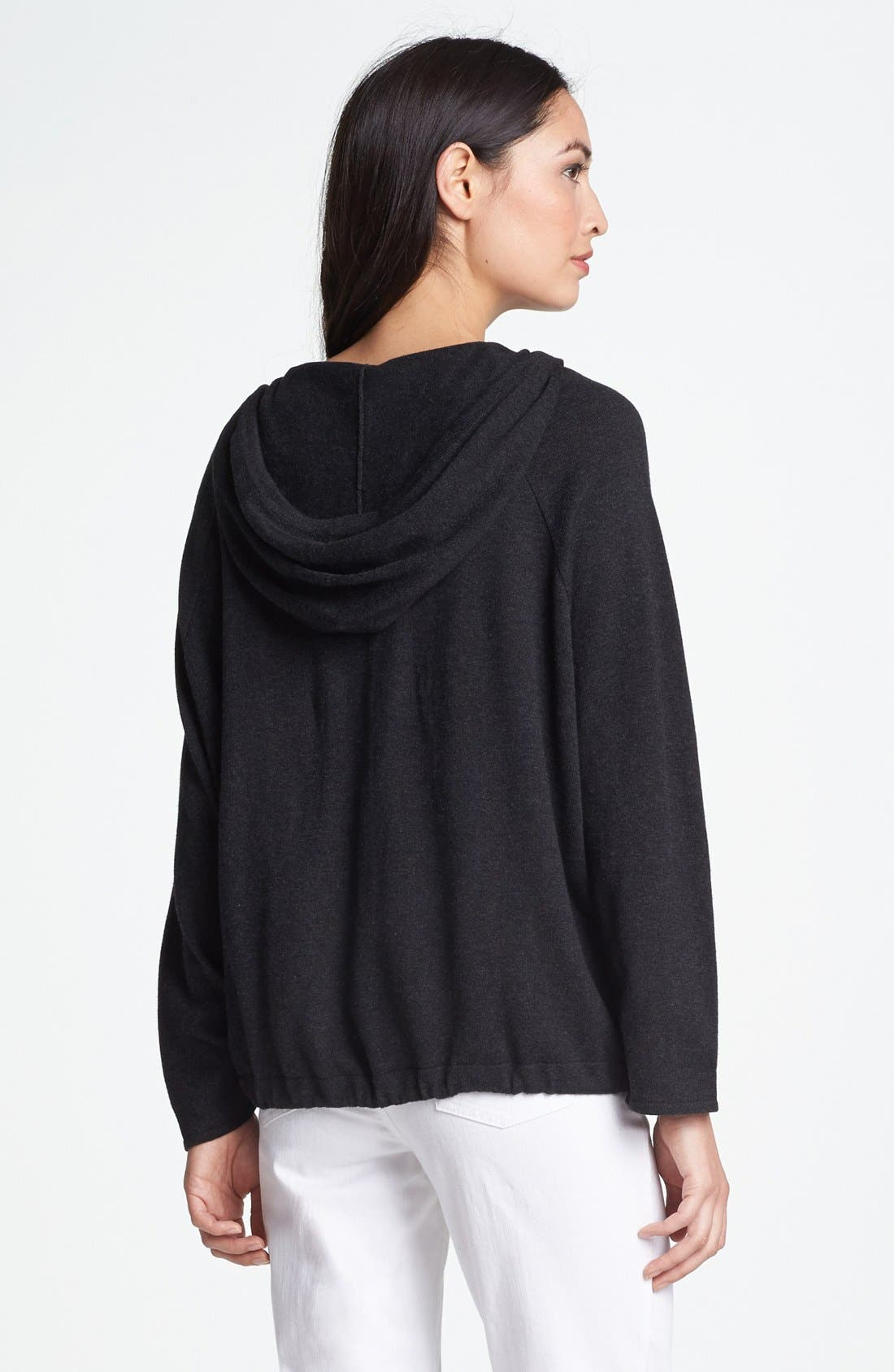 Alternate Image 2  - Eileen Fisher Hooded Cardigan