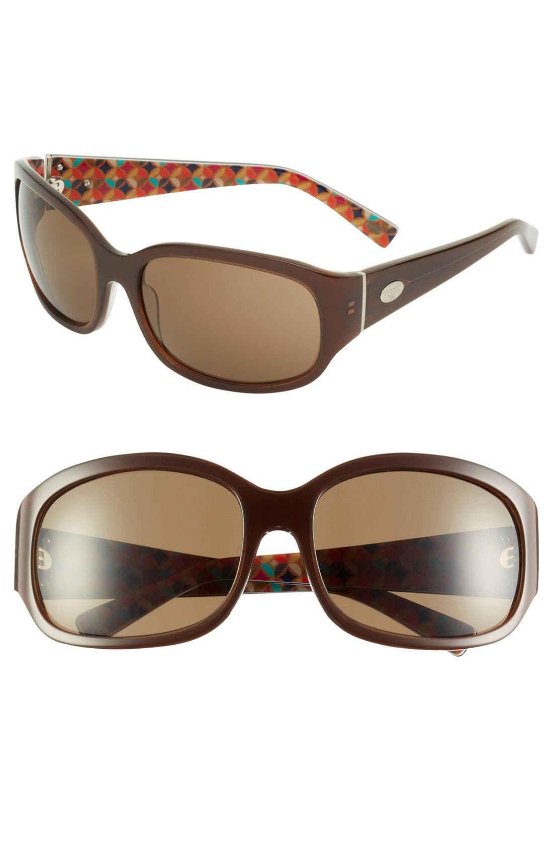 Alternate Image 1 Selected - Fossil 'Cece 3' 61mm Sunglasses