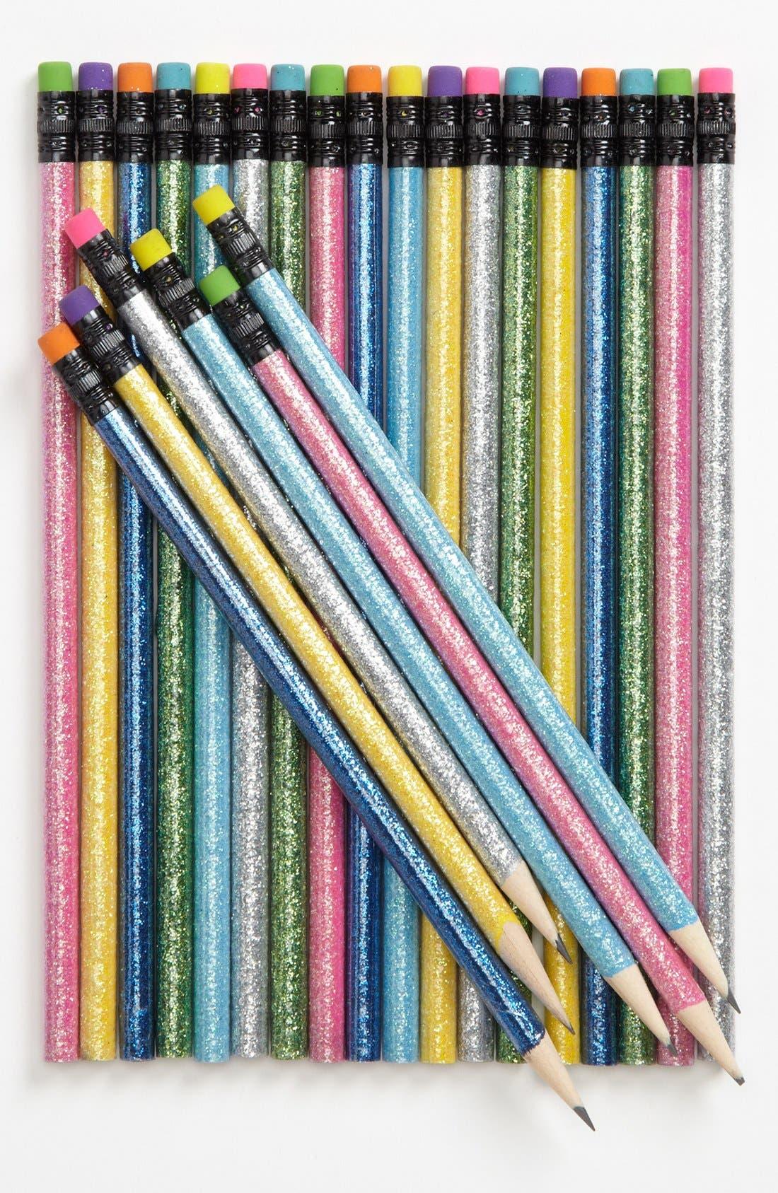 Main Image - International Arrivals 'Twinkle Twinkle' Pencils (Set of 24) (Girls)