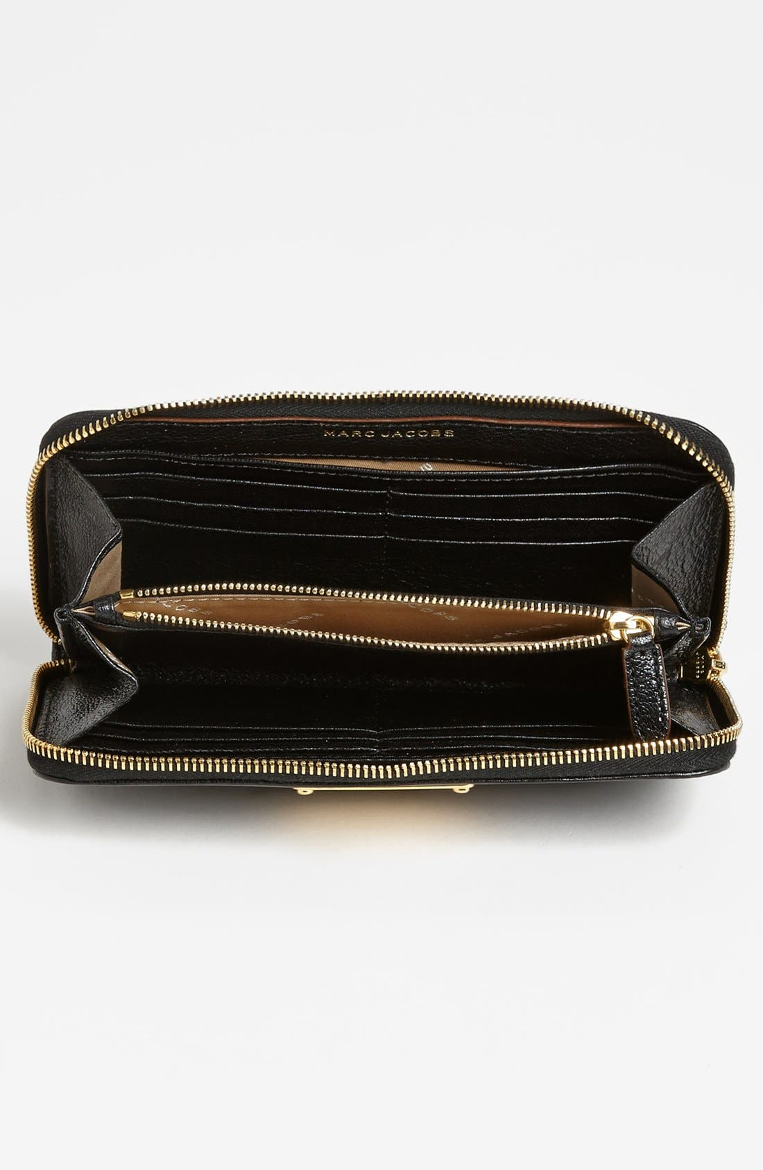 Alternate Image 2  - MARC JACOBS 'Wellington Deluxe' Goatskin Wallet
