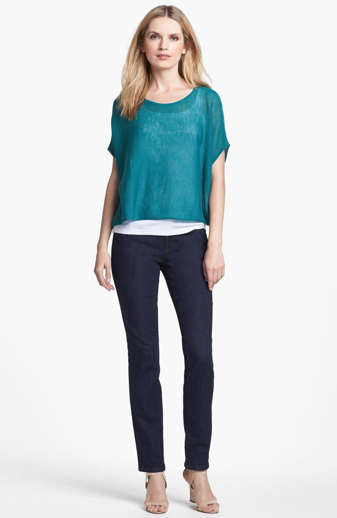 Alternate Image 2  - Eileen Fisher 'Ethereal Wool' Short Poncho Top (Regular & Petite)