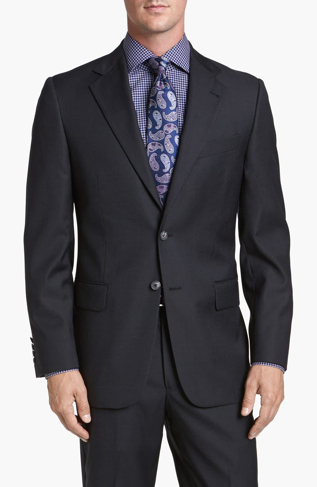 Alternate Image 4  - Joseph Abboud 'Signature Silver' Wool Suit