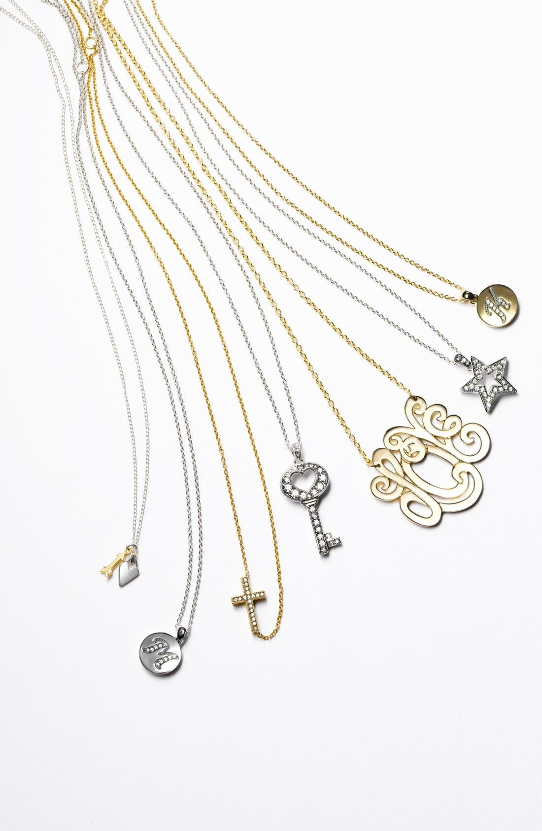 Alternate Image 4  - Nadri Boxed Initial Pendant Necklace (Nordstrom Exclusive)