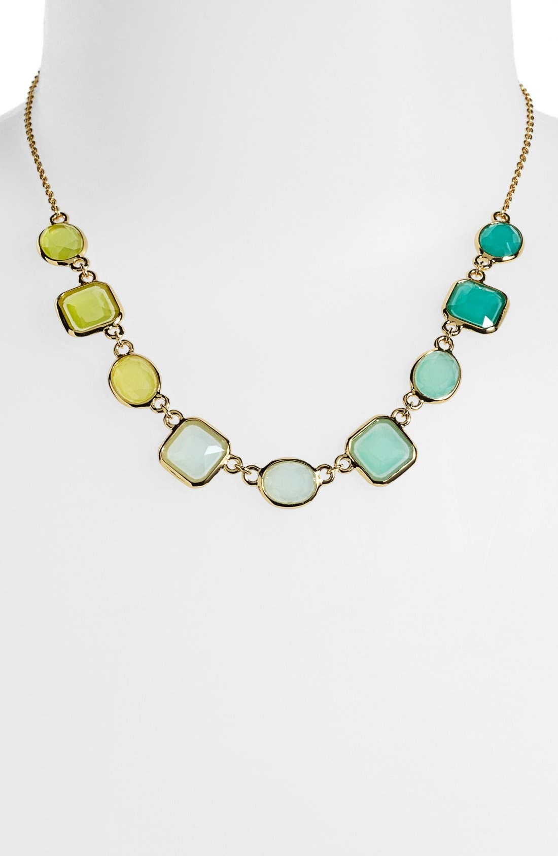 Main Image - kate spade new york 'coated confetti' frontal necklace