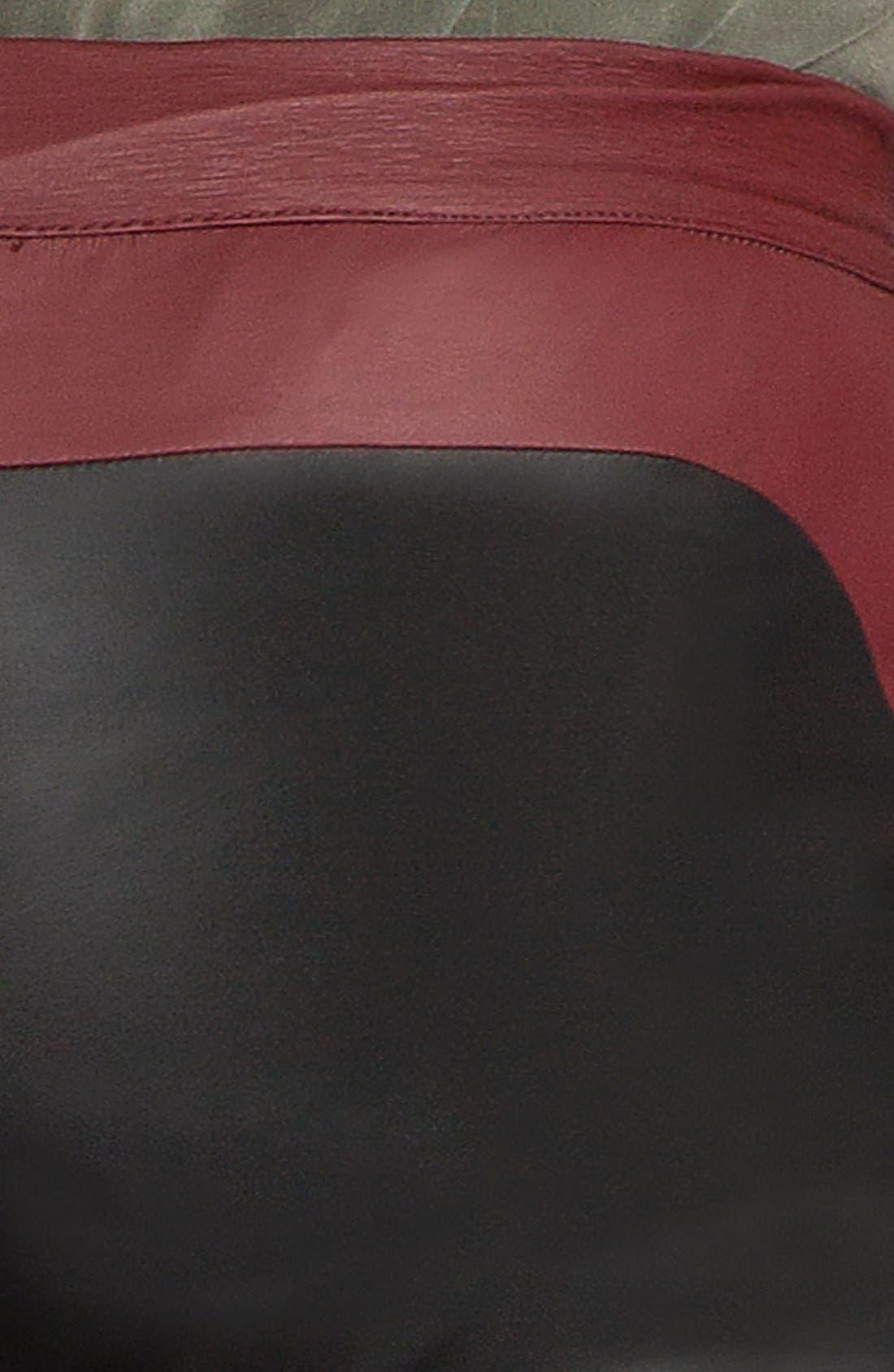 Alternate Image 3  - MSGM Tricolor Faux Stretch Leather Leggings