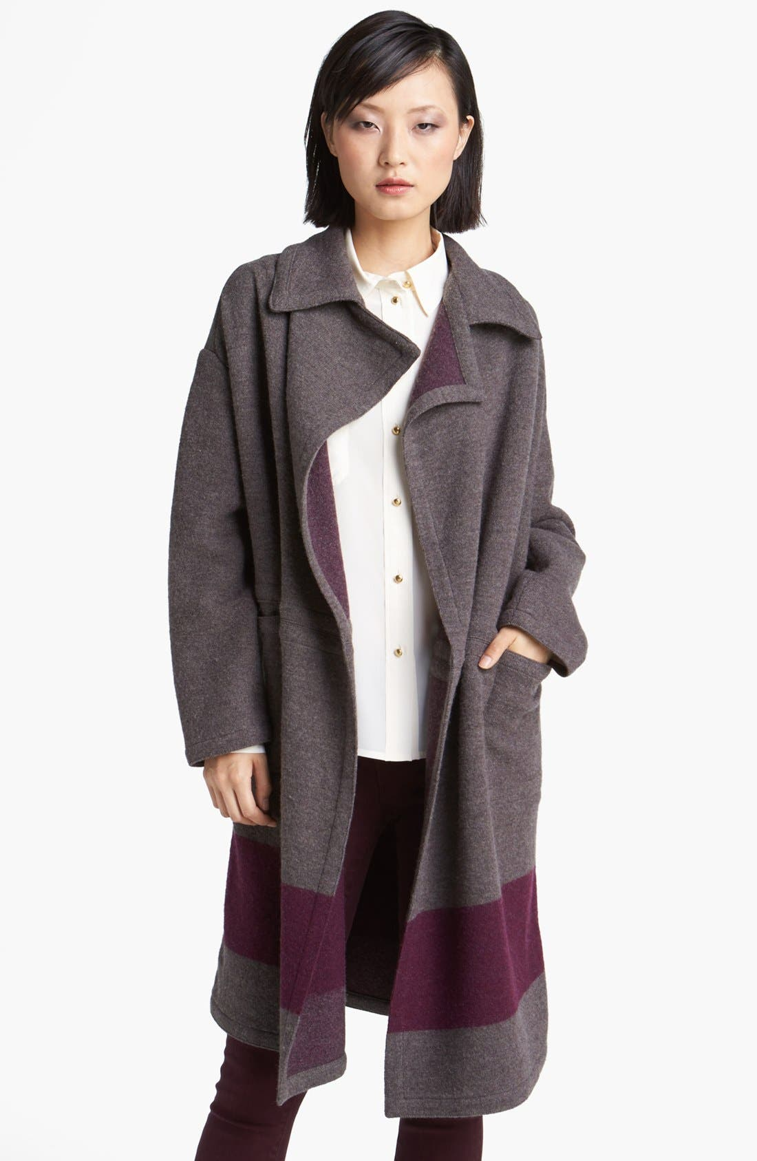 Main Image - MARC BY MARC JACOBS 'Sam' Wool Sweater Coat