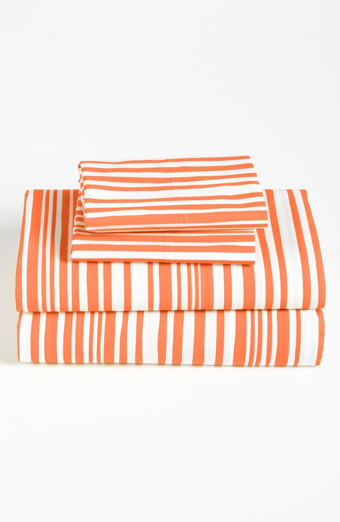 Alternate Image 1 Selected - Nordstrom at Home Mixed Stripe Sheet Set