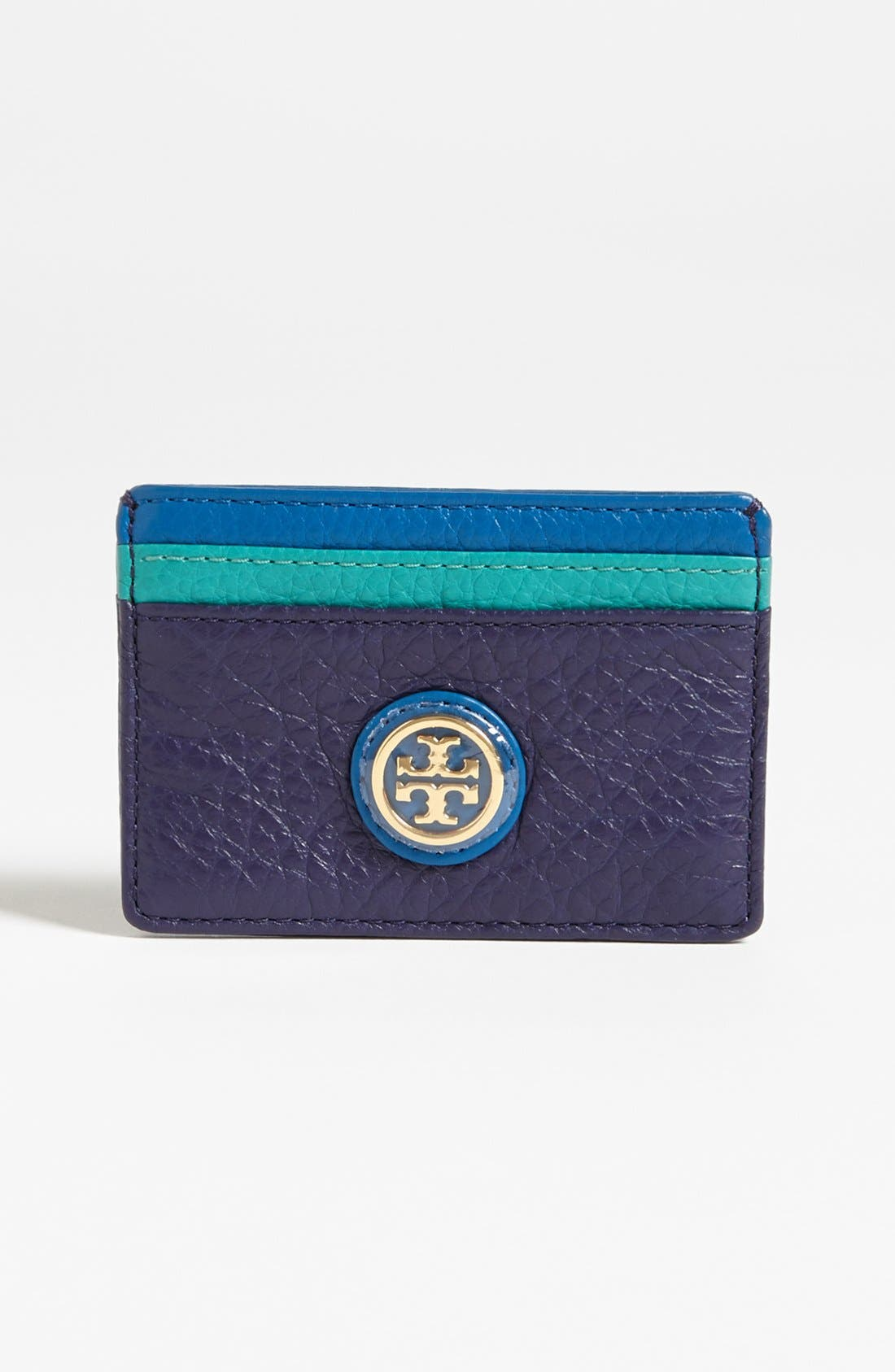 Alternate Image 1 Selected - Tory Burch 'Clay - Slim' Card Case
