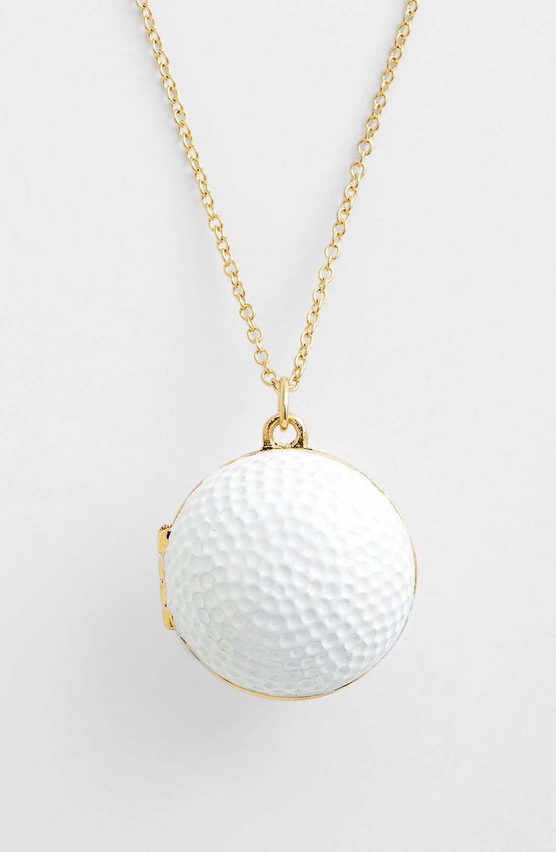 Main Image - kate spade new york 'on par' long golf ball pendant necklace