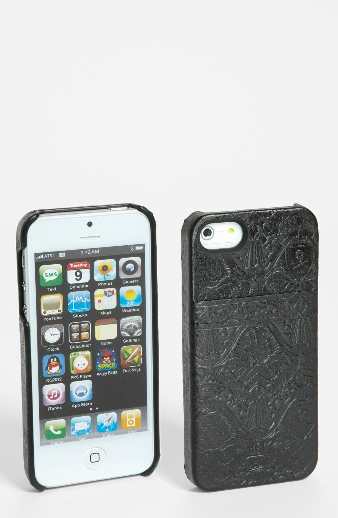 Alternate Image 1 Selected - HEX 'Solo - Fools Gold' iPhone 5 Wallet Case