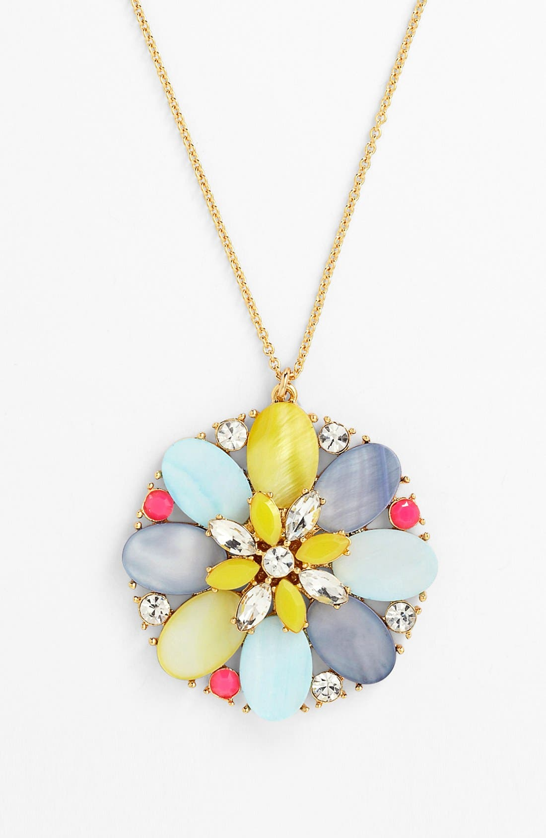 Alternate Image 2  - kate spade new york 'bungalow bouquet' long pendant necklace
