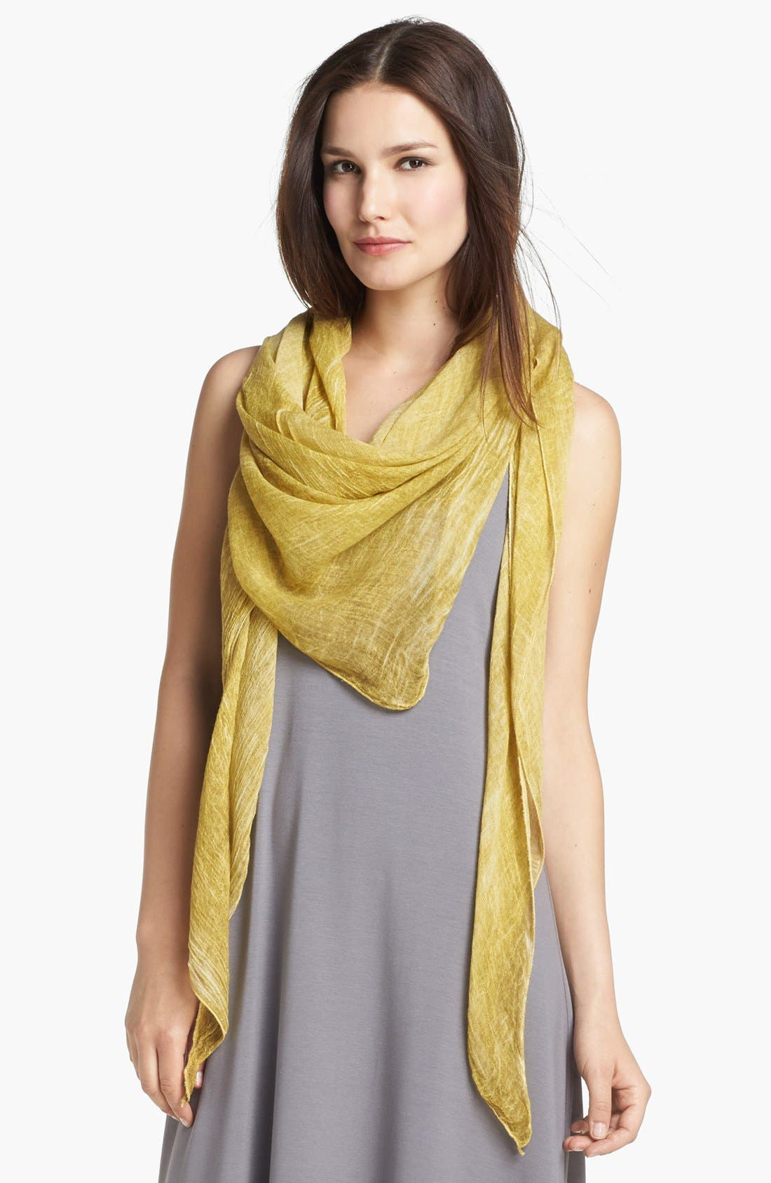 Main Image - Eileen Fisher Tinted Triangle Scarf