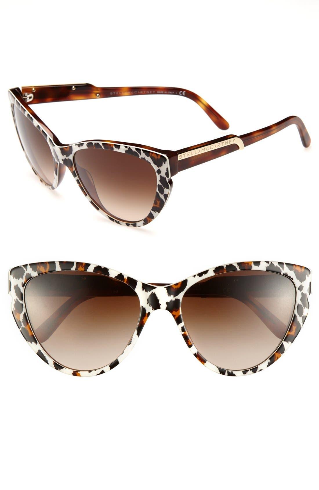 Main Image - Stella McCartney 59mm Cat's Eye Sunglasses