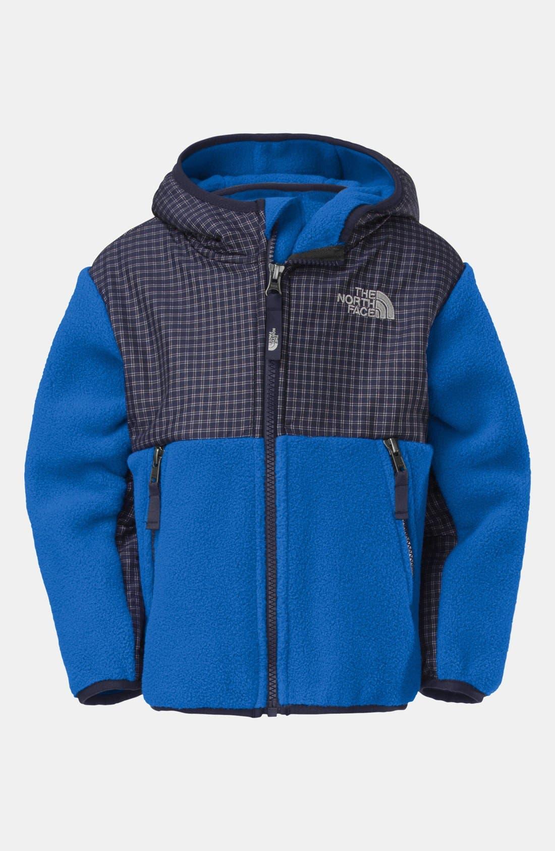 Alternate Image 1 Selected - The North Face 'Denali' Polartec® Fleece Hoodie (Toddler Boys)
