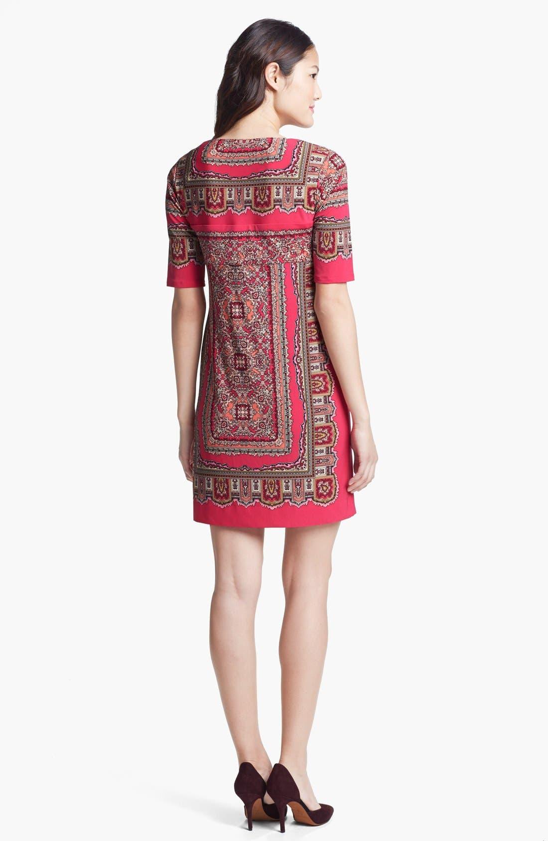 Alternate Image 2  - Donna Morgan Print Shift Dress
