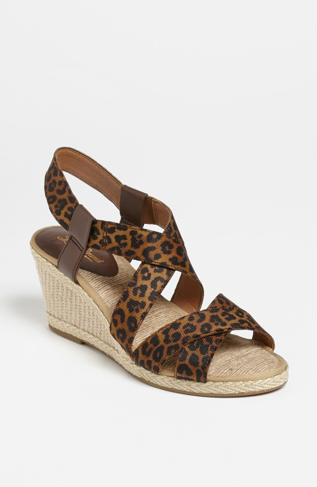 Alternate Image 1 Selected - Lucky Brand 'Keane' Wedge Sandal