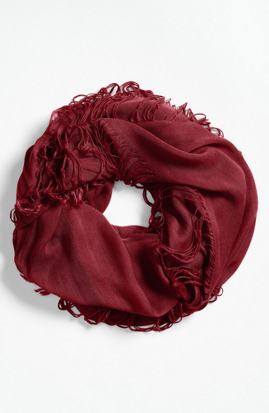 Main Image - BP. Shredded Infinity Scarf (Juniors)