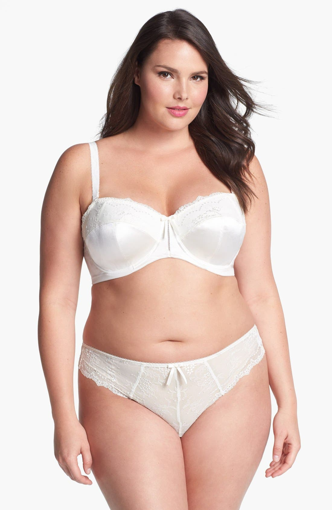Alternate Image 3  - Elomi 'Maria' Convertible Strapless Bra (Plus Size)