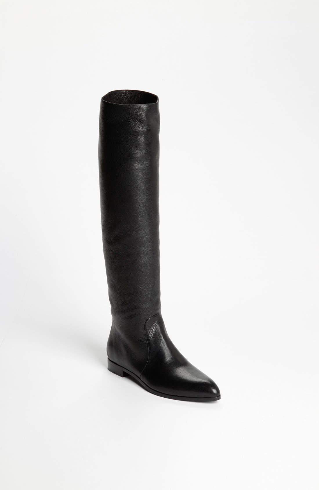 Main Image - Prada Pointy Toe Over the Knee Boot